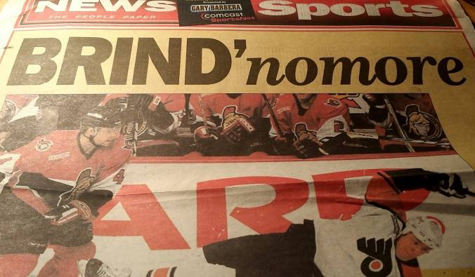 Brind'Amour trade headline