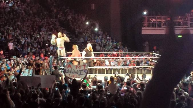wwe dublin april 2015 daniel bryan and co