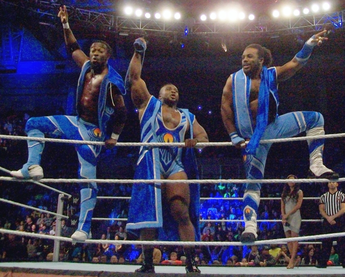 new day wwe power of positivity