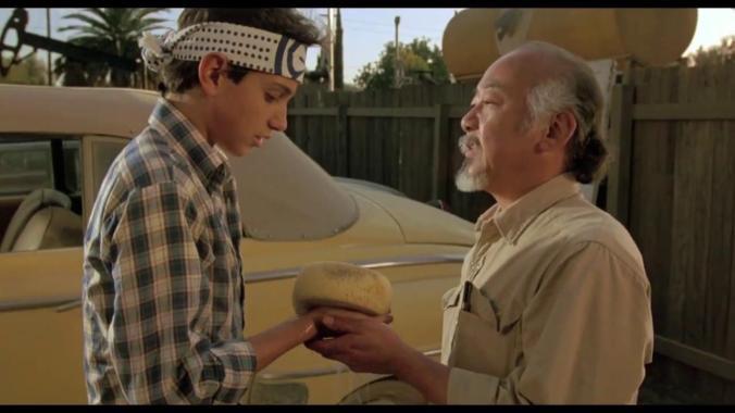 Karate Kid Daniel San Mr Miyagi